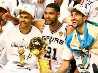 Spurs de San Antonio son campeones de la NBA