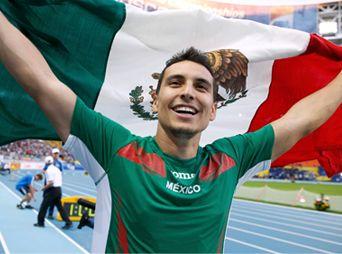 Gana Luis Rivera medalla de oro Campeonato Iberoamericano de Atletismo