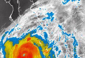 Huracán Odile tocaría tierra en BCS en las próximas horas