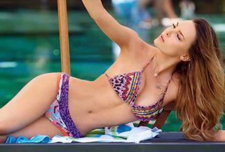 Belinda posó sexy para revista H