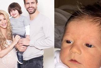 A través la página oficial del Baby Shower Mundial de UNICEF, Shakira presenta a su segundo bebé. Se trata de Sasha, el segundo hijo varón de la cantante.