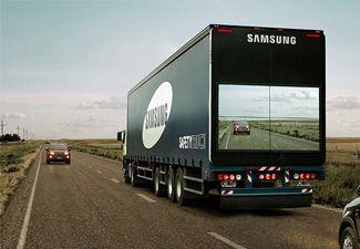 Los trailers de Samsung ayudarán a reducir accidentes