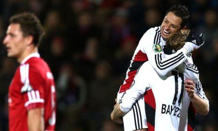 Uno más, revive el gol del Chicharito en la Copa Alemana
