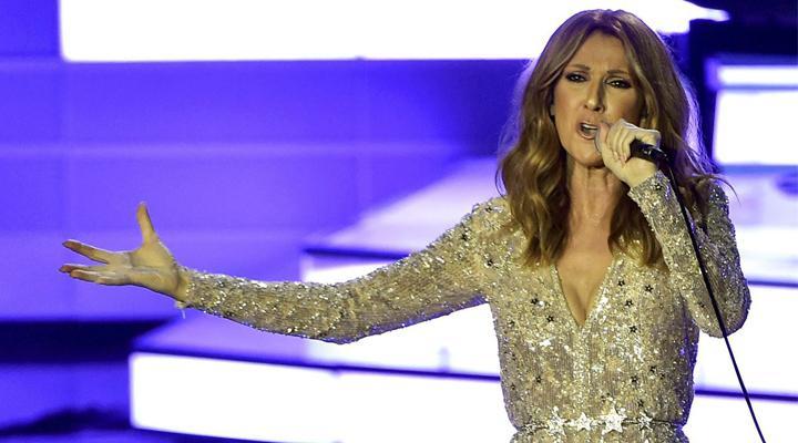 Vídeo: Celine Dion cantando Hello, de Adele