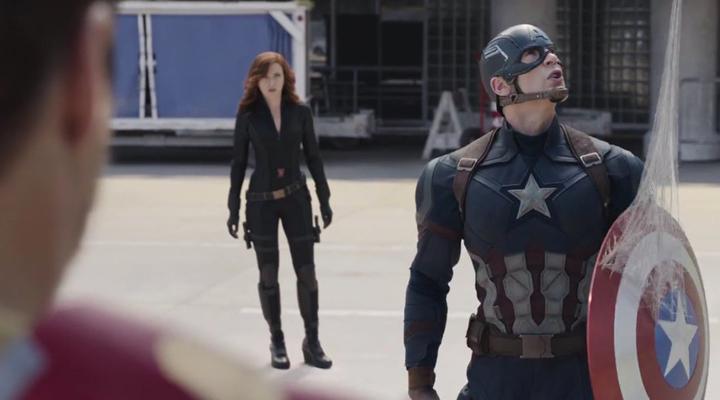 Spiderman apareció en el último avance de Capitán América