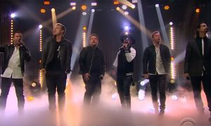 James Corden sexto Backstreet Boy