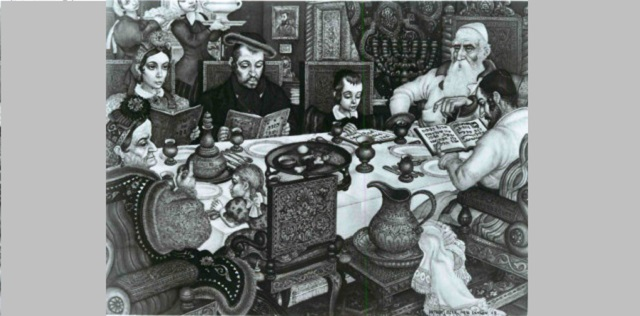 A Passover Story and an Unusual Recipe
