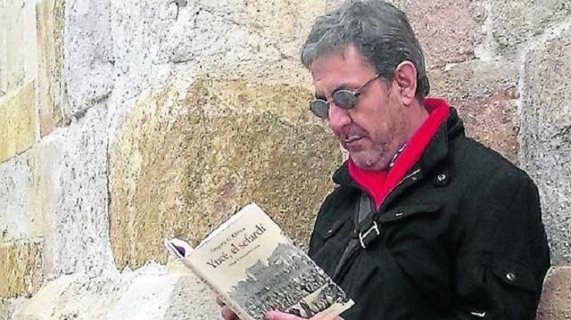 """""""Yucé el sefardí"""", con su autor Gregorio G. Olmos"""