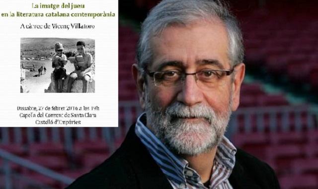 La imagen del judío en la literatura catalana contemporánea, con Vicenç Villatoro