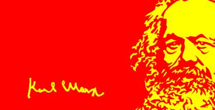 marx rojo