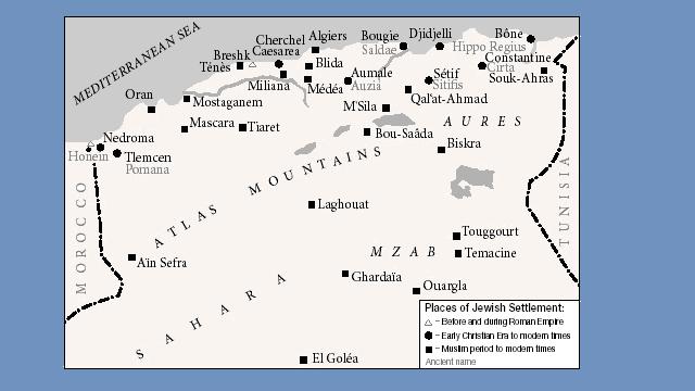 Los judíos de Oriente (14ª parte): Argelia (I)