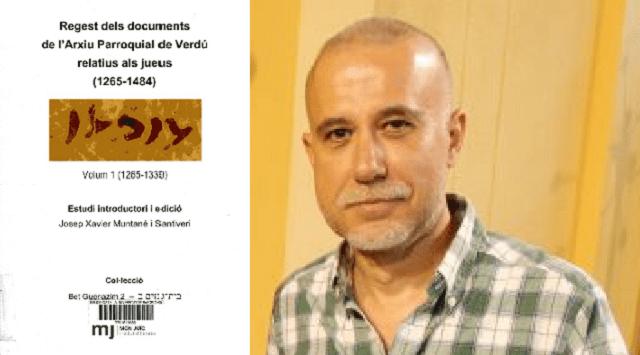 Archivos parroquiales sobre judíos en Verdú, con Josep Muntané