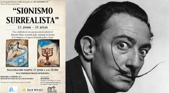"""""""Sionismo Surrealista"""": asombroso Dalí en Barcelona, con Lluis Vidal"""