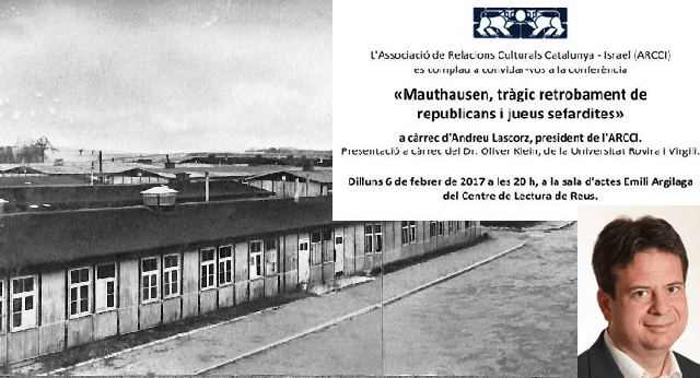 Mauthausen: el trágico reencuentro entre republicanos y judíos sefarditas, con Oliver Klein