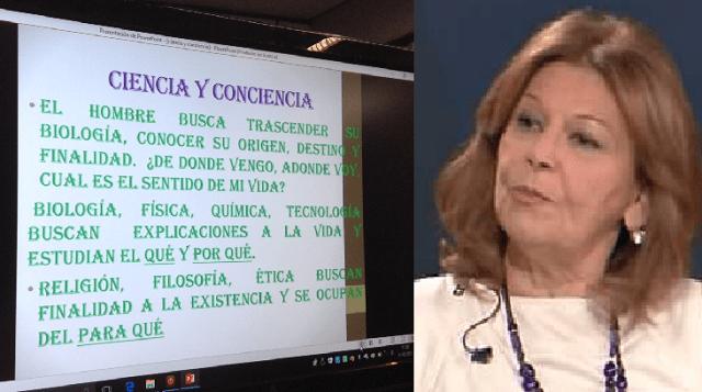 Ciencia y conciencia, con Verónica Nehama (CEMI, Madrid, 21/3/2017)