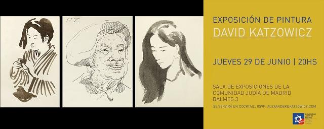 Los paisajes y retratos de David Katzowicz en la Comunidad Judía de Madrid