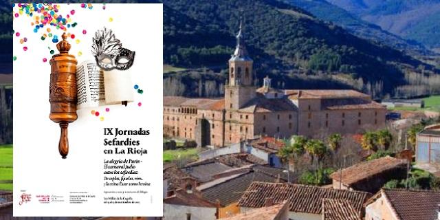 Las IX Jornadas Sefardíes en la Rioja, con su co-coordinador Uriel Macías