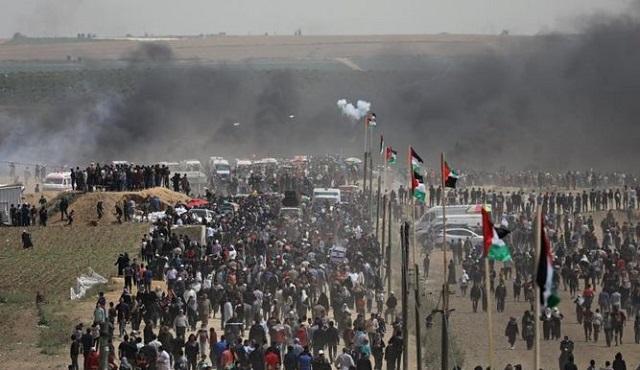 Las marchas del retorno impulsadas por Hamás