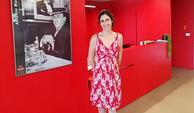 Carmen Álvarez, en el Cervantes de Tel Aviv: misión cumplida