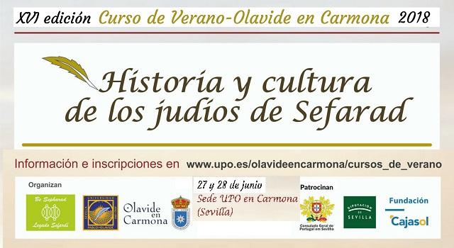 """""""Historia y cultura de los judíos de Sefarad"""" en Carmona, con Pepa Rull"""