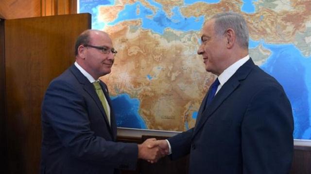 Con Beniamin Netanyahu por Ibn Shaprut, con el alcalde de Jaén Francisco J. Márquez