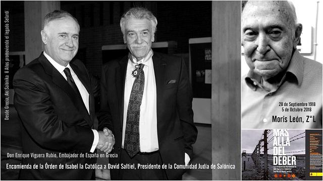 España honra a los sefardíes de Grecia – Adiós Morís León