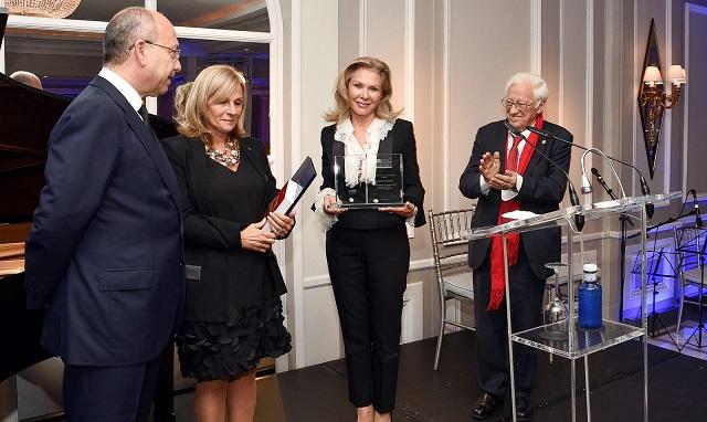 Acto de entrega del Premio Maimónides 2018 a Alicia Koplowitz (Madrid, 8/11/2018)