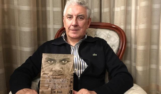 """""""En los pliegues del viento"""", con su autor José Miguel Boal"""