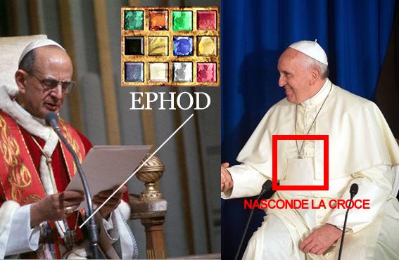 """Bergoglio: bene gli anticoncezionali (abortivi) in caso di violenza, lo disse """"Paolo VI il grande"""""""