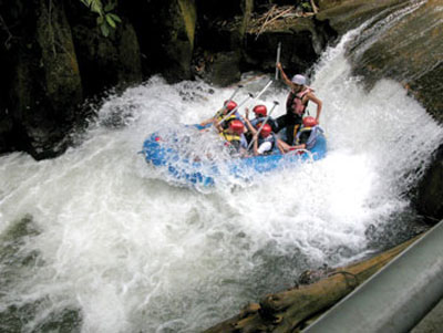 bakas levi rafting