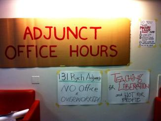 Photo from Occupy CUNY