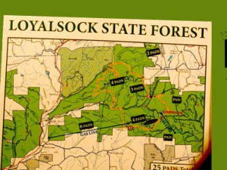 Loyalsock Gas Map FEATURED