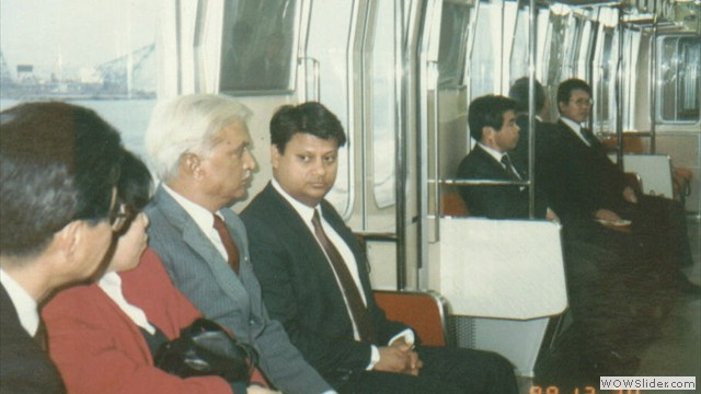 with scindia in japan 88