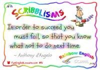 "scribblisms ""failure to learn"" ""Sab Will"" mini"