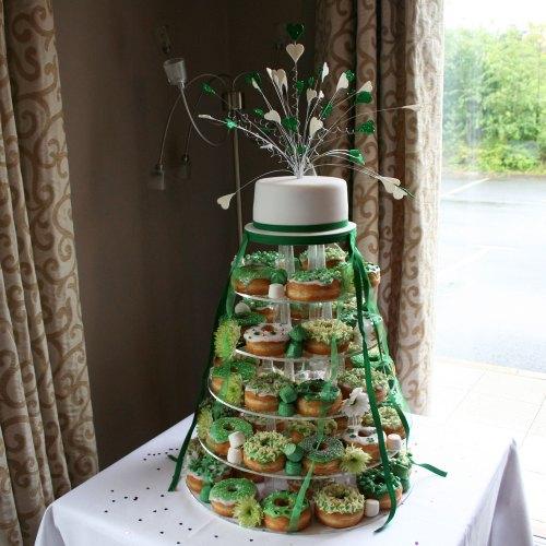 Medium Of Donut Wedding Cake
