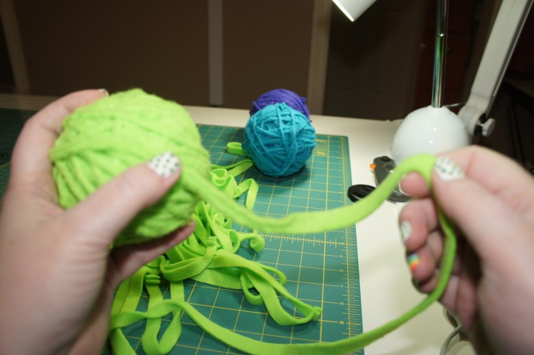Continue this process until you have enough yarn to complete your project.