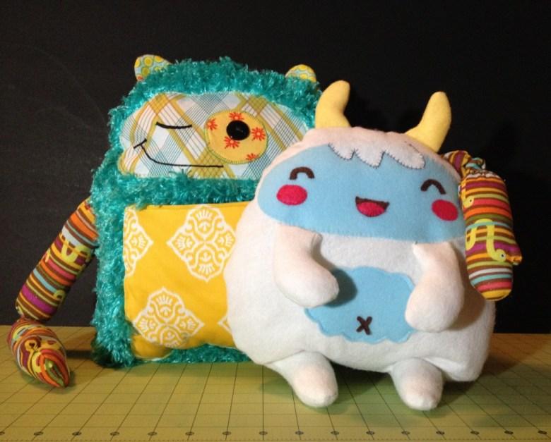 Stuffed Yeti Kawaii
