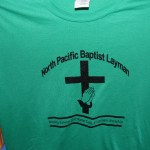 Front of Baptist T-shirts