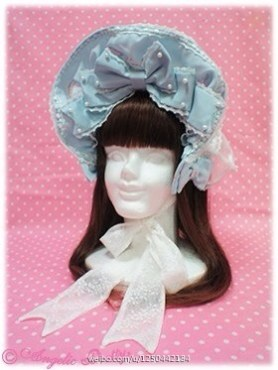 Angelic Pretty x Imai Kira La Princesse Sucre Glorious Night Carnival Special Set Bonnet