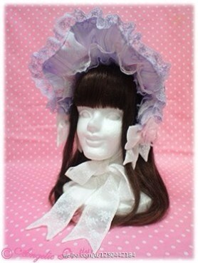 Angelic Pretty Romantic Rose Letter Special Set Bonnet