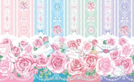 Angelic Pretty Romantic Rose Letter