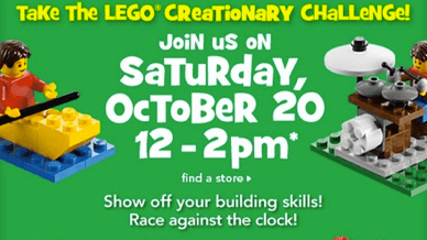 Lego Toys R Us event