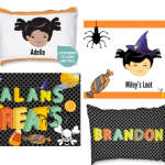 *HOT* Super Cute Personalized Pillow Case Only $4.99 + Shipping! (Halloween Treat Bags)