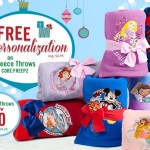 *HOT* Personalized Disney Fleece Throw Only $10 (Reg. $20)