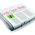 Sunday Coupon Preview 12/28 (1 Insert!)