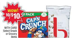 cap'n crunch deal