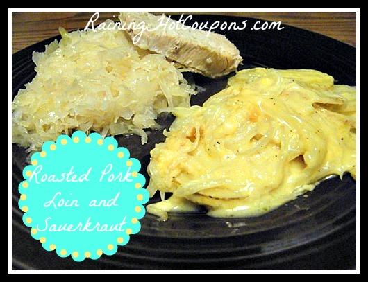 Roasted Pork and Sauerkraut Crock-Pot Recipe