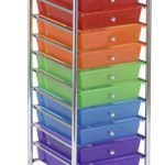Amazon: 10-Drawer Mobile Colorful Organizer with Wheels Only $36.72 + FREE Shipping (Reg. $89.99!)