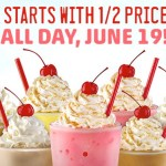 Sonic: *HOT* 1/2 Price Ice Cream Shakes ALL DAY!
