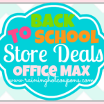 Office Max & Office Depot Back to School Deals 8/3/14